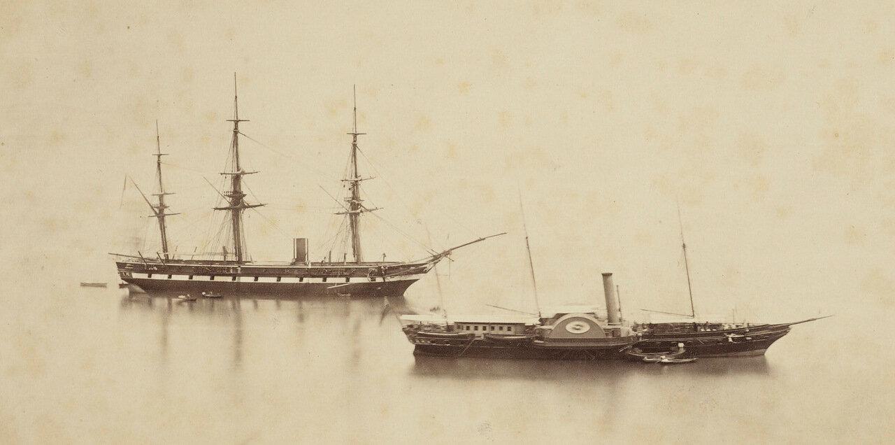 7 июня 1862. Осборн и Дорис