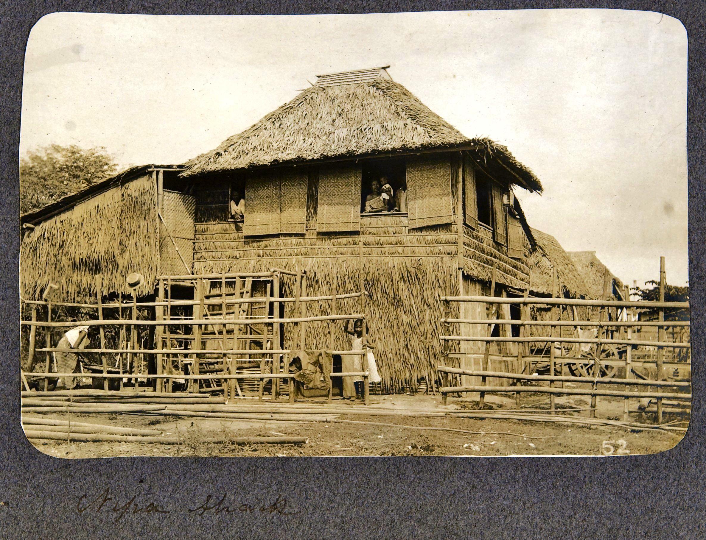 09. Манила. Бахай кубо (Традиционный филиппинский дом, крытый листьями нипы кустистой)