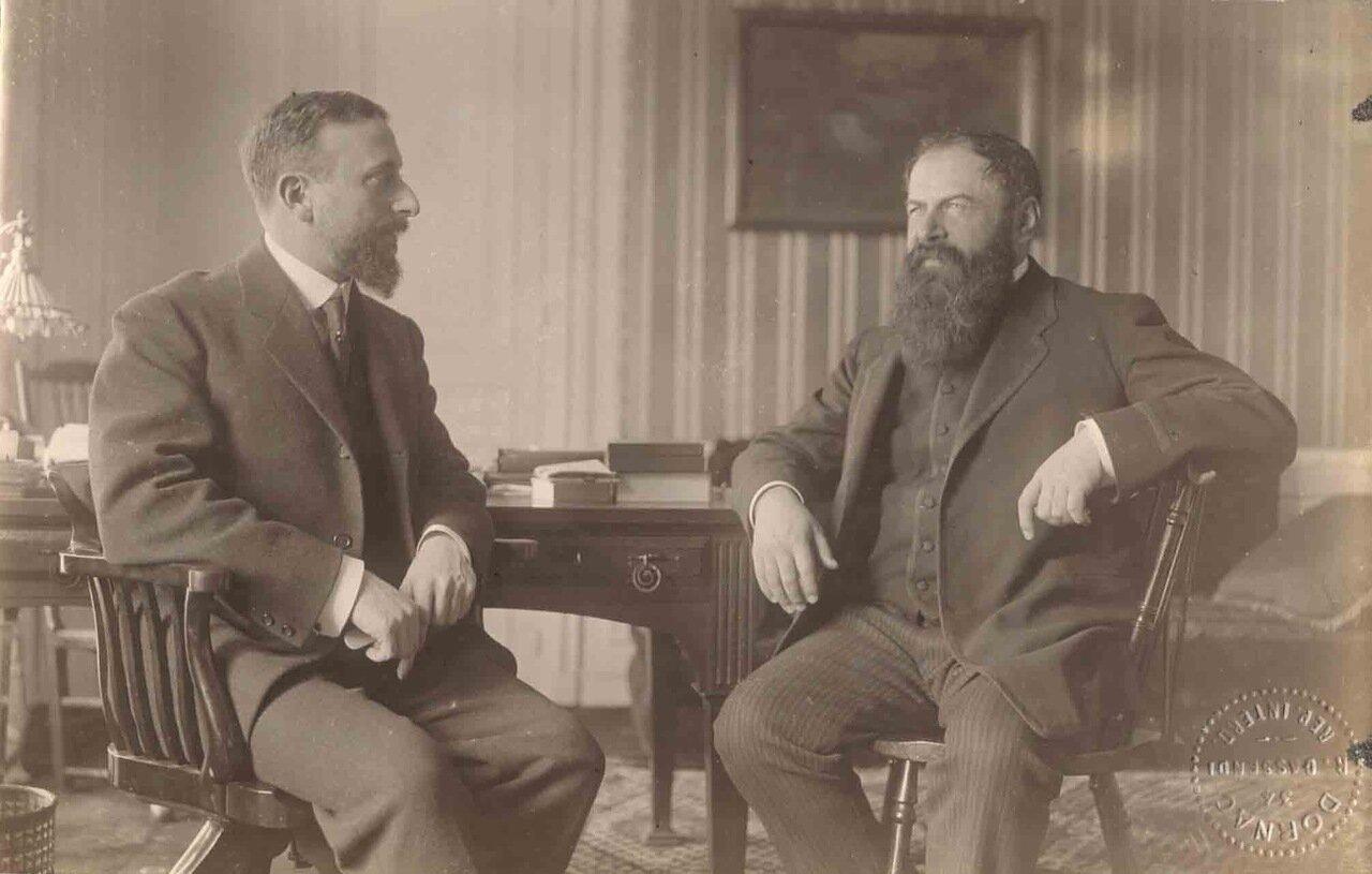Тристан Бернар (1866—1947), писатель и Альфред Ати
