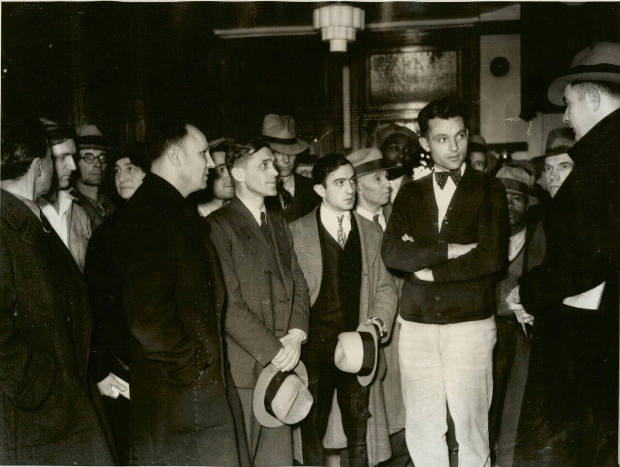 1933. Протестующие против суда над поджигателями Рейхстага, Окленд, штат Калифорния