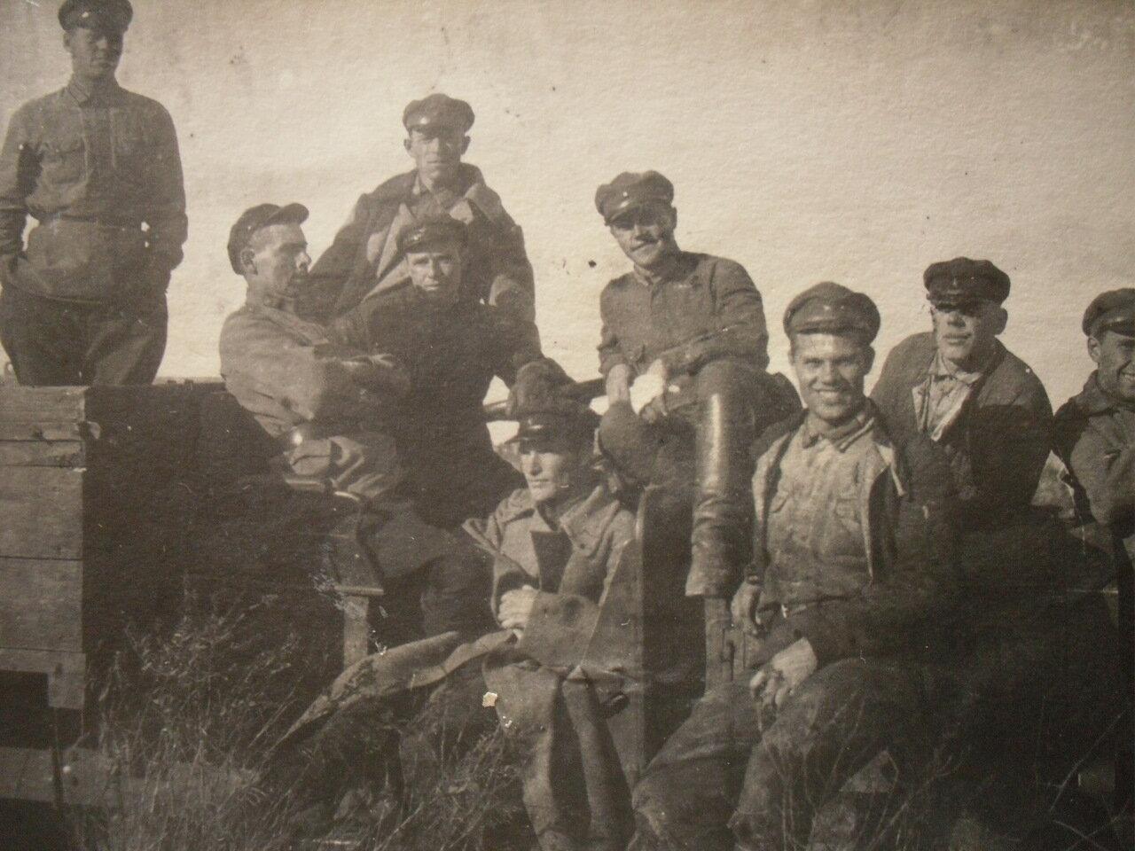 1925.Красноармейцы на КВЖД