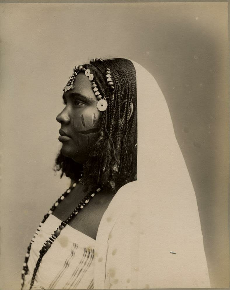 Женщина из Судана, начало XX века