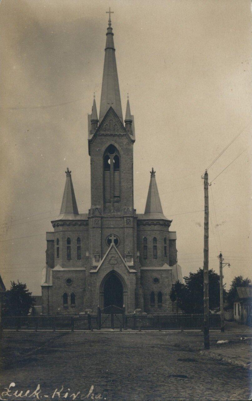 Немецкая церковь. 1915
