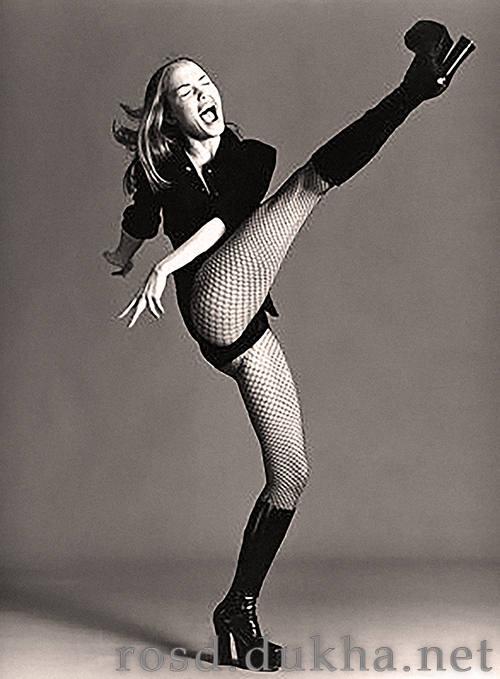 Женская борьба ногами