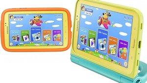 Компания Samsung анонсировала планшет для детей