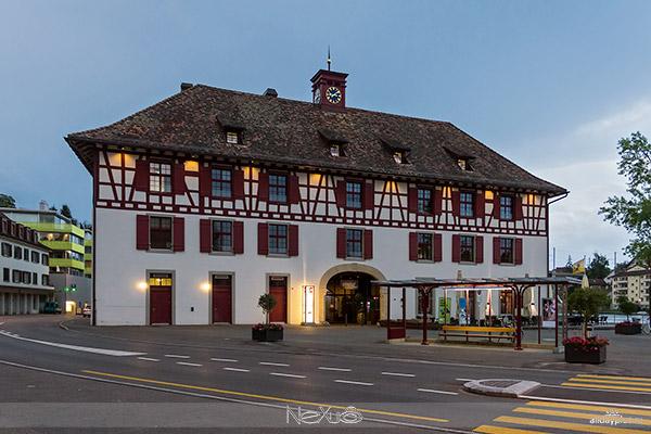 Schaffhausen и Gailingen am 5a8Hochrhein.
