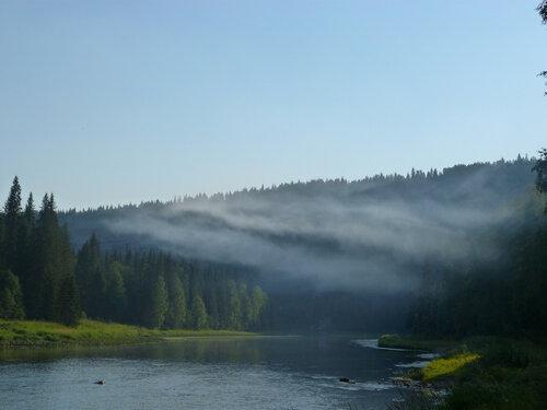 Туман над Усьвой (Пермский край)