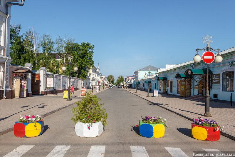 Исторический центр Елабуги.