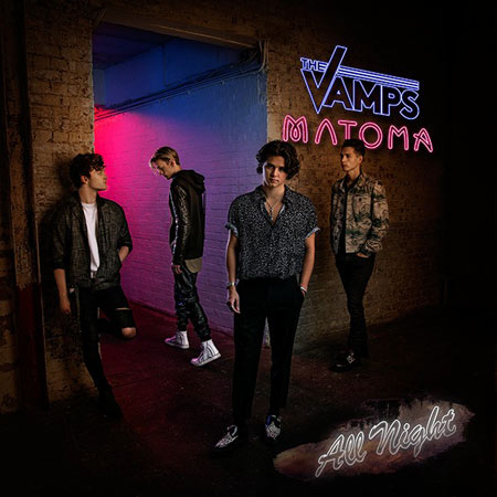 Клип The Vamps, Matoma - All Night