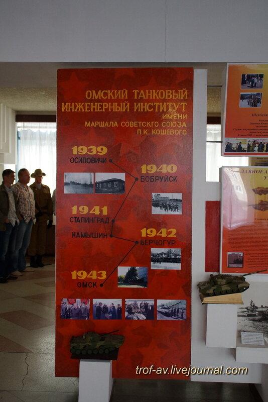 Музей боевой истории ОТИИ, Омск