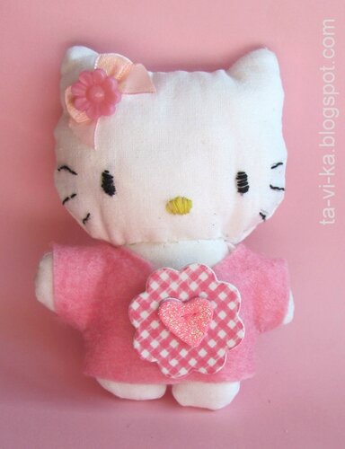 скачать выкройку Hello Kitty