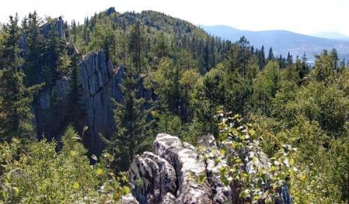 Южная вершина Малого Таганая
