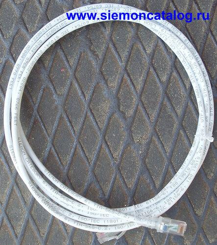 Патч-корды 6 категории Siemon MC6-03M-02B.