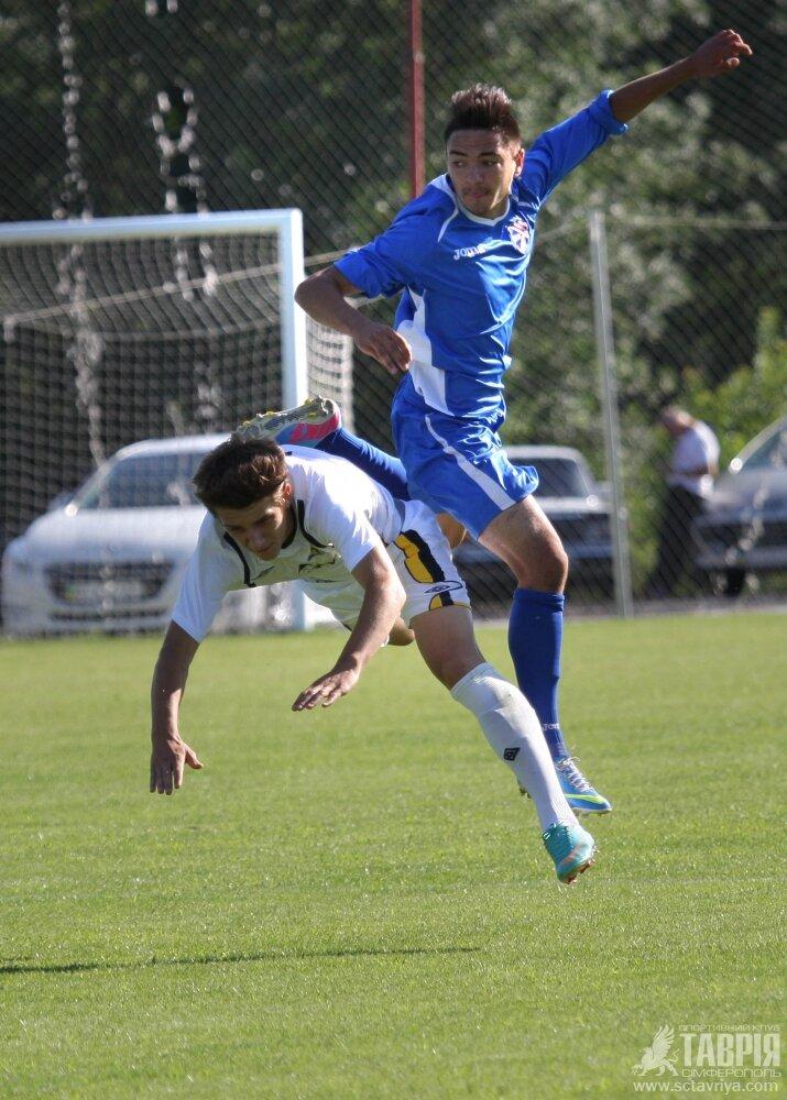 Матч U-19 Таврия - Металлург Донецк