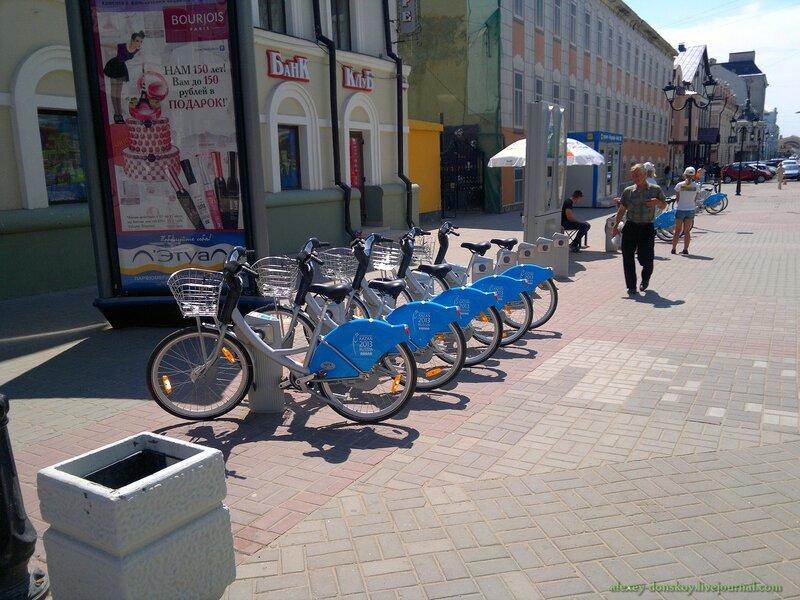 Велопрокат в Казани