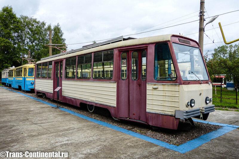 Музей трамваев в Нижнем Новгороде: Трамвай РВЗ-7