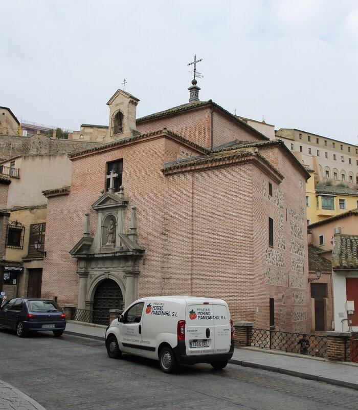 Толедо. Часовня Вирхен-де-ла-Эстрелья (Ermita de la Virgen de la Estrella)