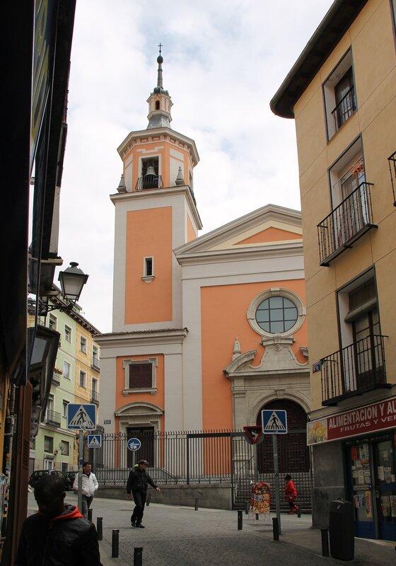 Мадрид. Parroquia de San Lorenzo