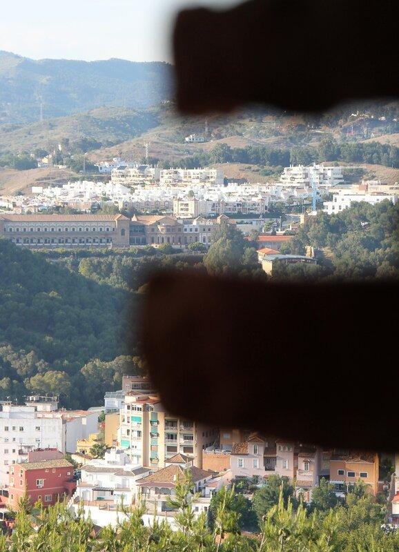 Малага. Виды из крепости Хибральфарo