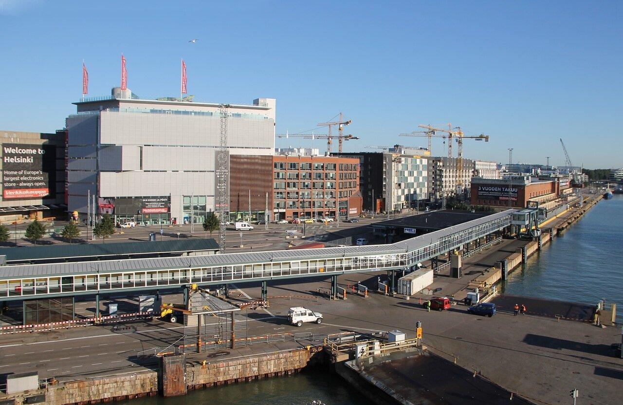 Хельсинки порт, Западный терминал