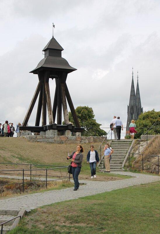 Уппсала. Uppsala. Королевский замок. Колокол Гуниллы. Uppsala Slott. Uppsala Castle. Gunilla bell