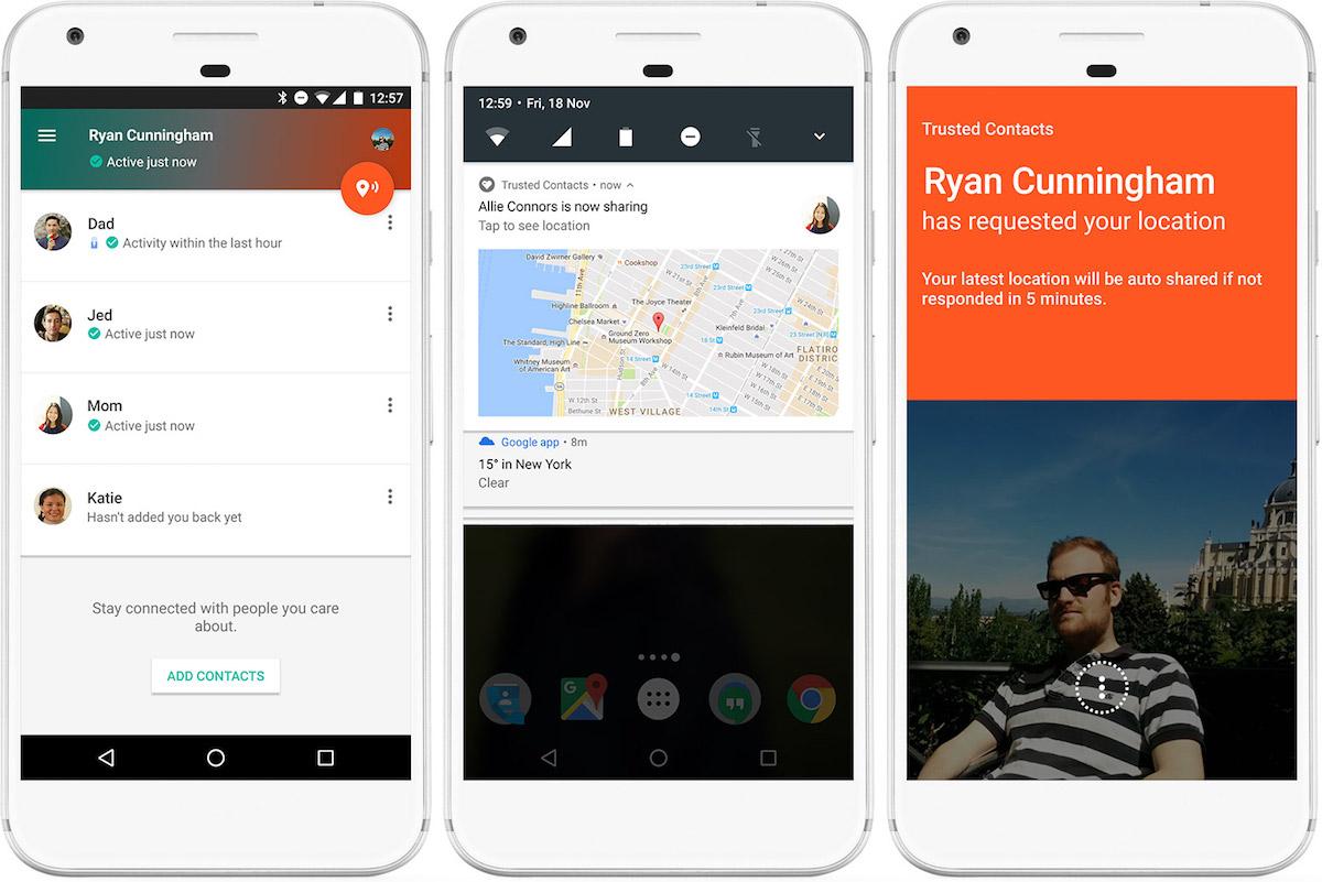 Google выпустила приложение для поиска близких