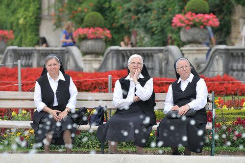 Зальцбург. Монахини