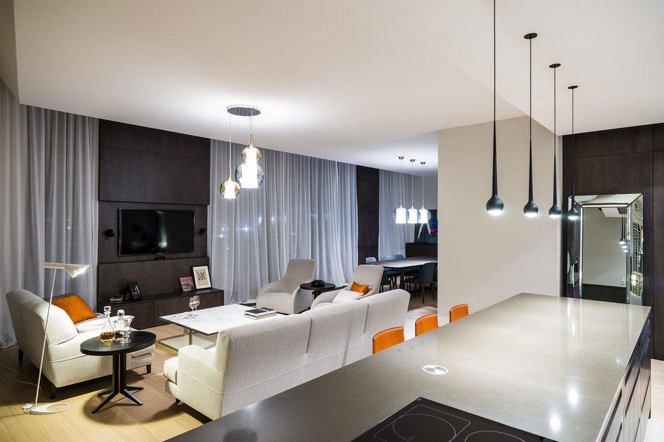 Стильные апартаменты в центре Варшавы