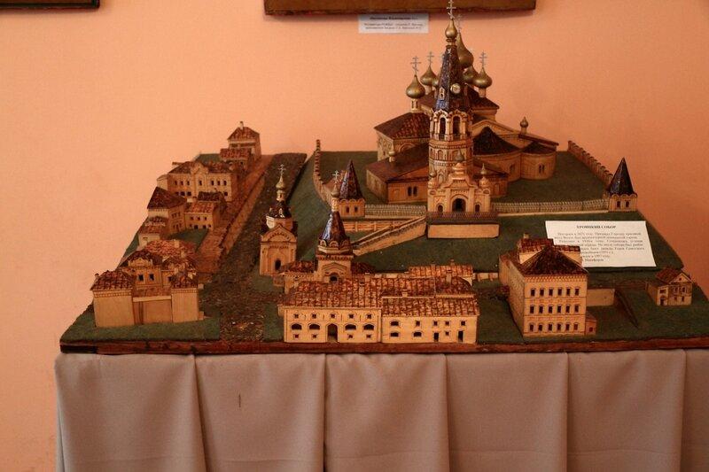 модель Феодоровского монастыря (разрушен в 1930-е годы)