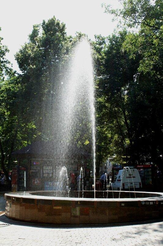 Фонтан парка Шевченко