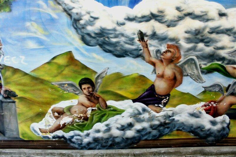 Ангелы на облаке