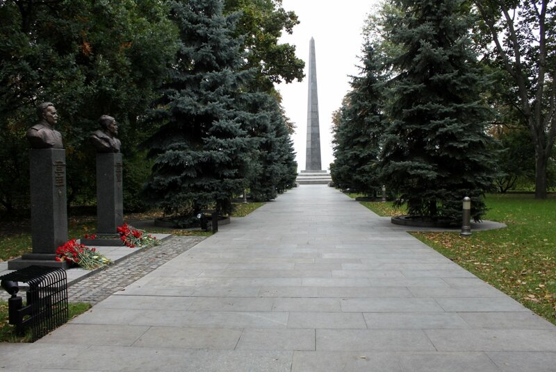 Аллея воинской славы в Киеве