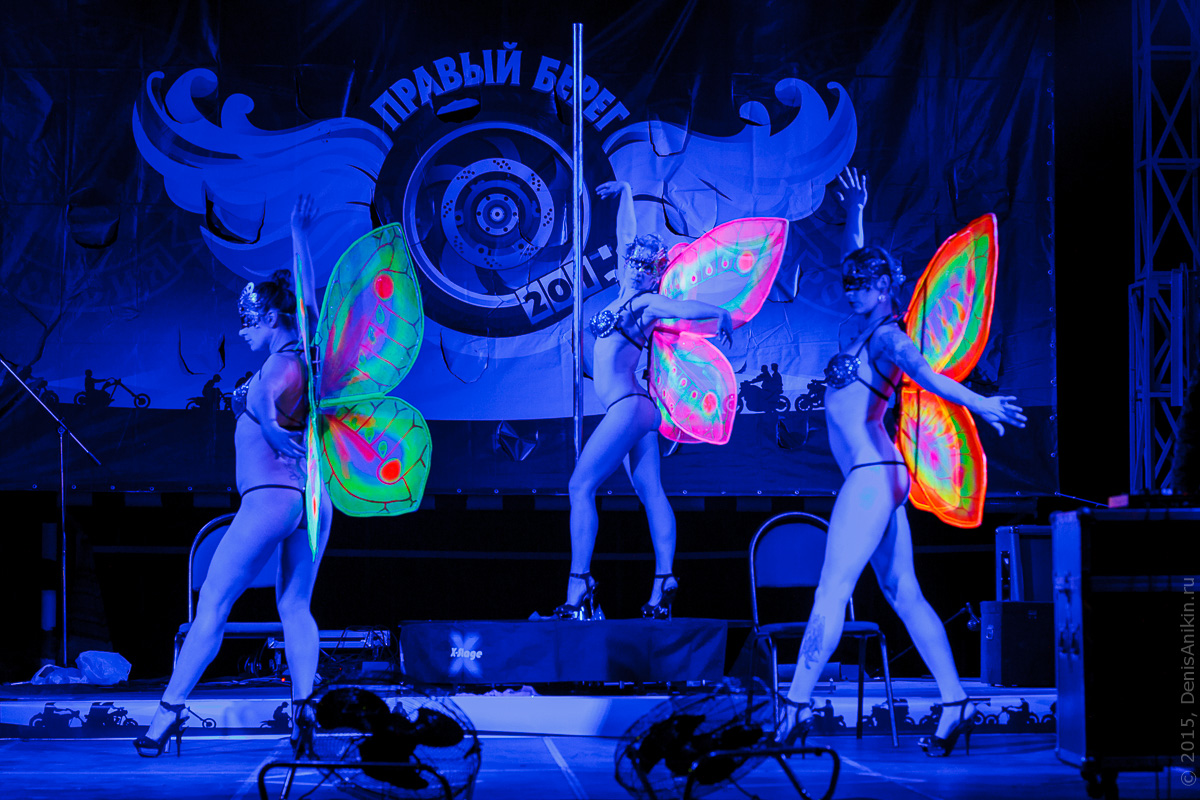 Мотофестиваль Правый Берег 2015 Velina-Dance Бабочки 11