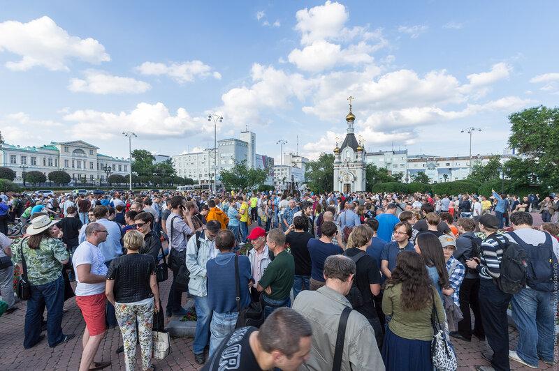 18 июля 2013 #Екатеринбург #навальный