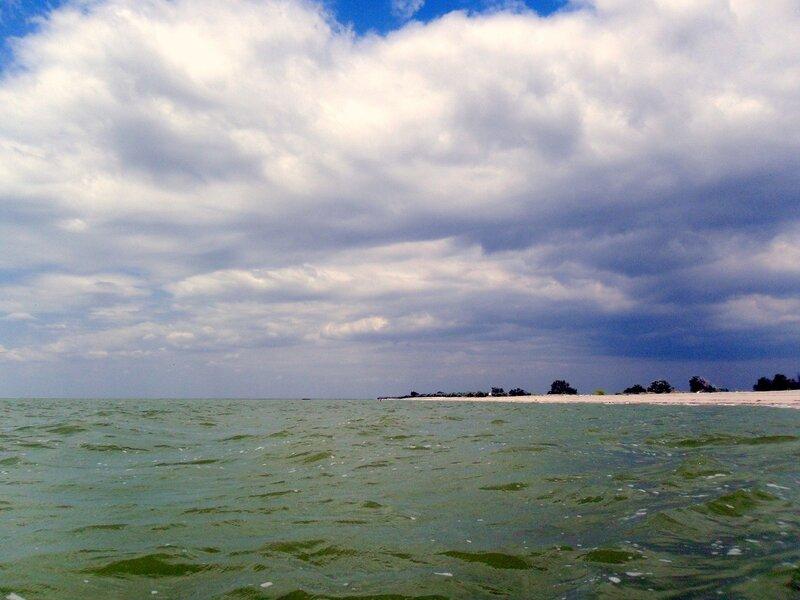 В июле, Азовское побережье