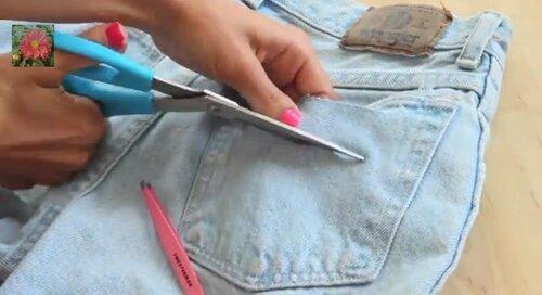 разрезы на шортах