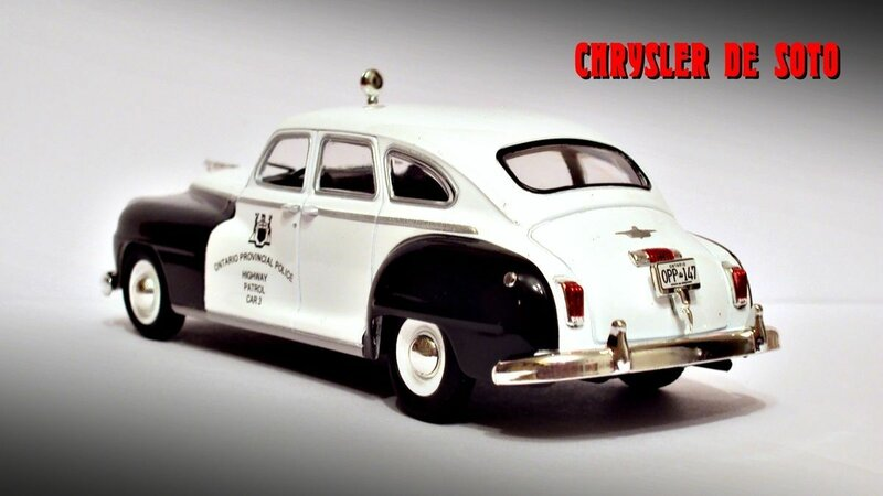 CHRYSLER DE SOTO. ПОЛИЦИЯ КАНАДЫ