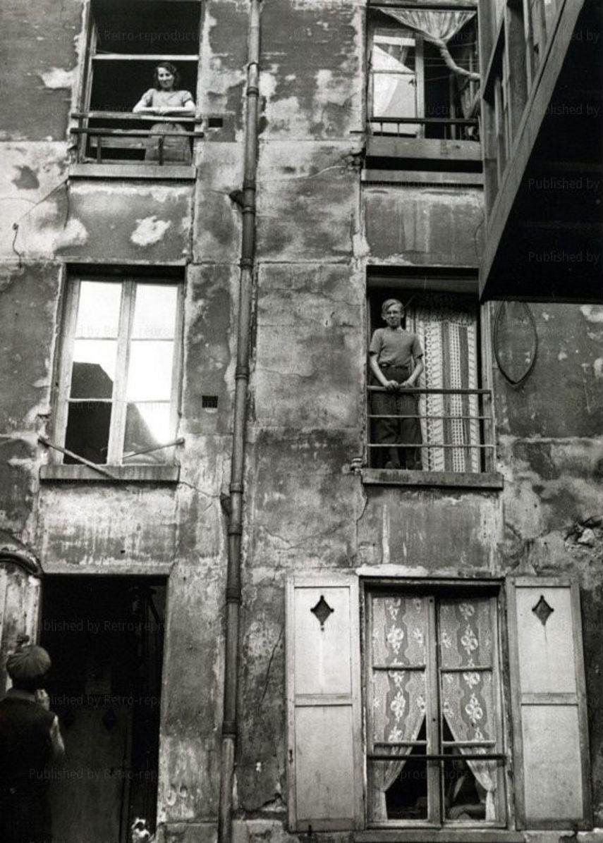 1930-е. Во дворе дома