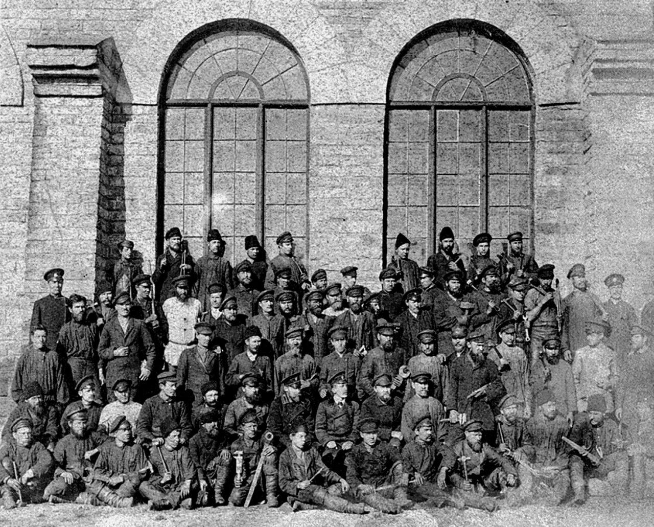 Златоуст. Паровозное депо. 1890-е г.