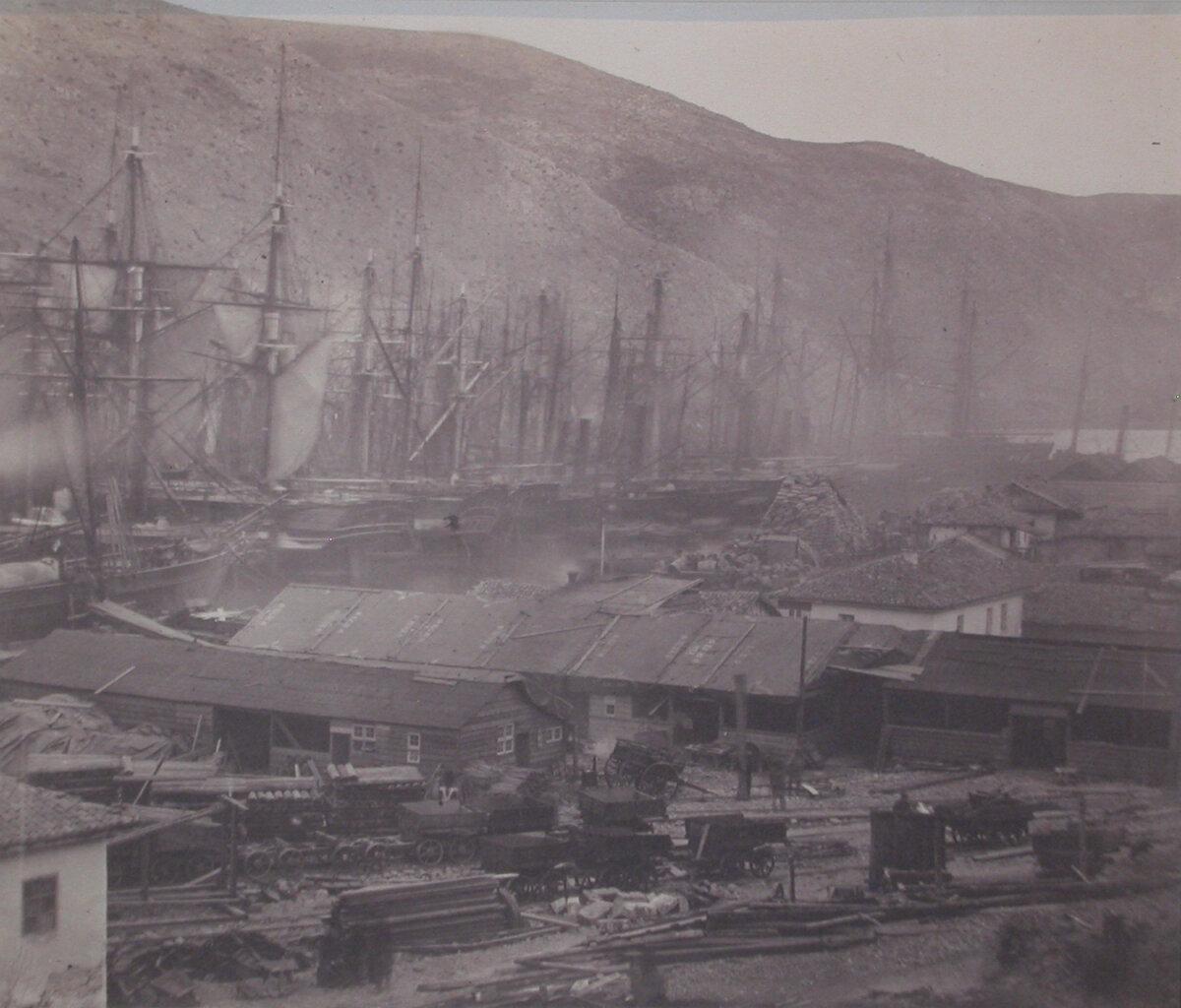 1854. Железная дорога и мастерские