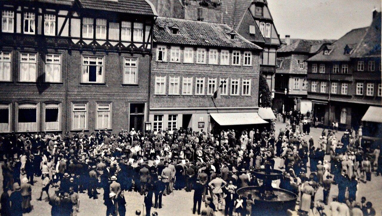 Гослар. Рыночная площадь. 1933