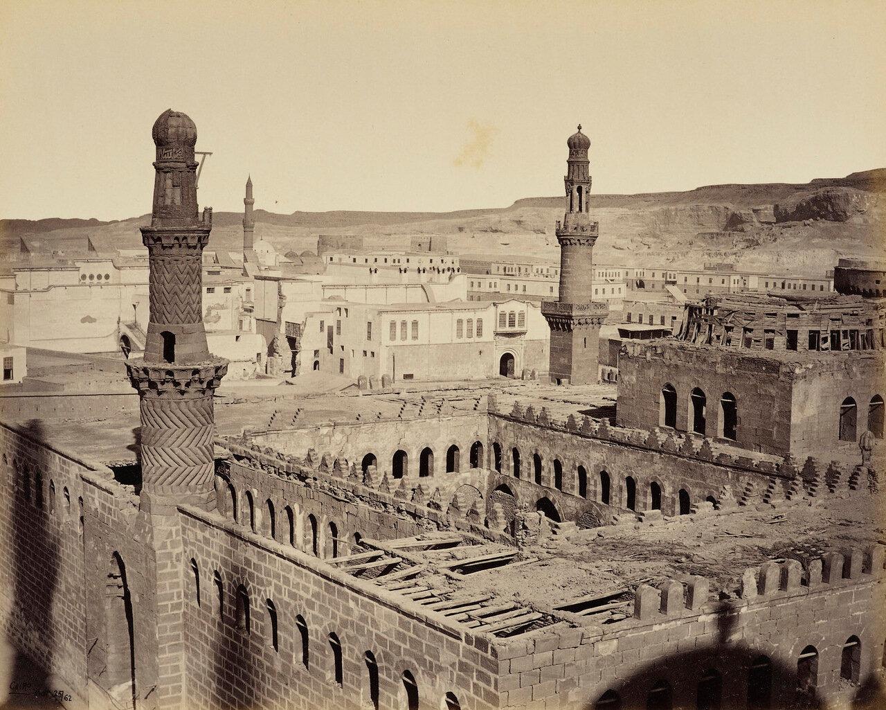 25 марта 1862. Вид с Цитадели, Каир