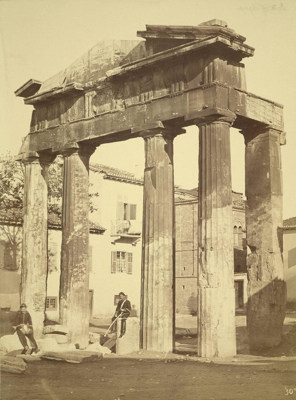 Ворота Агоры. 1895