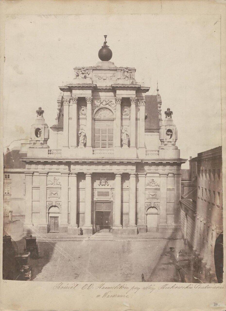 Церковь кармелитов 1858