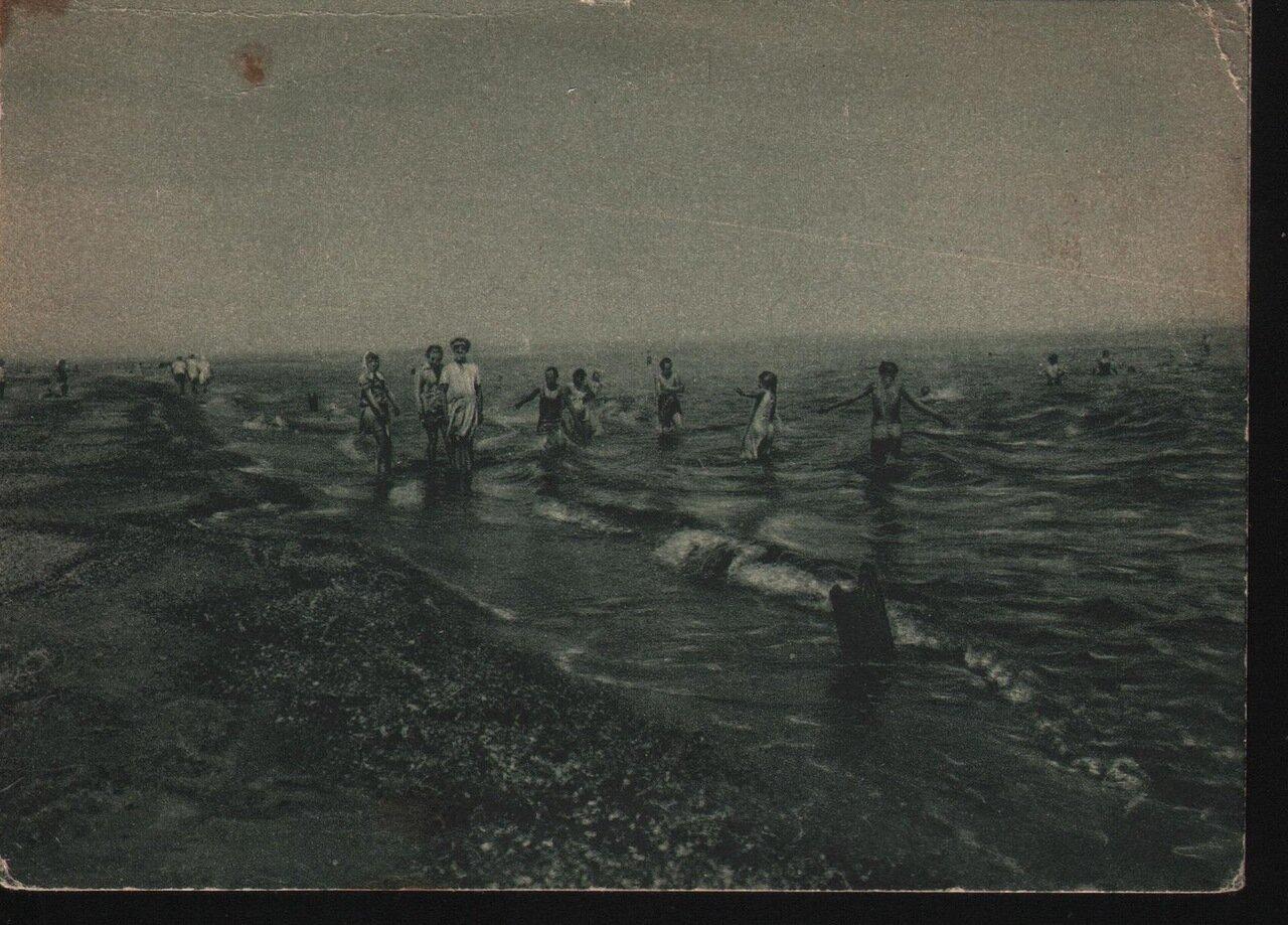 Пляж в Лузановке. 20-е годы