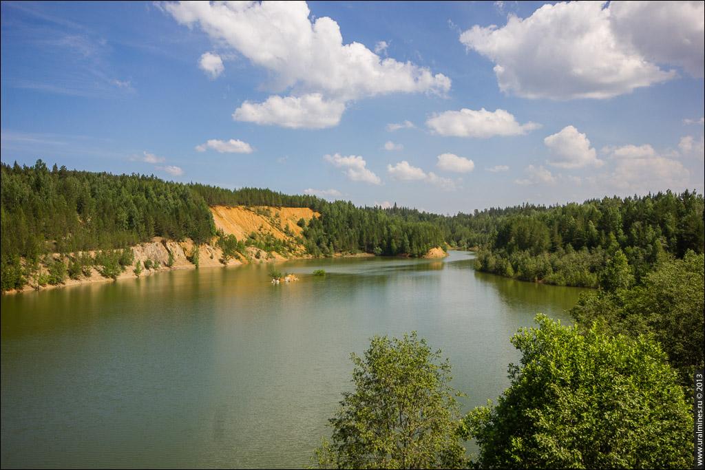 Нижне-Бакальский рудник карьер