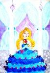 """Галюра Виолетта Степановна (рук. Колодина Анастасия Зелемxановна) - """"На балу"""""""