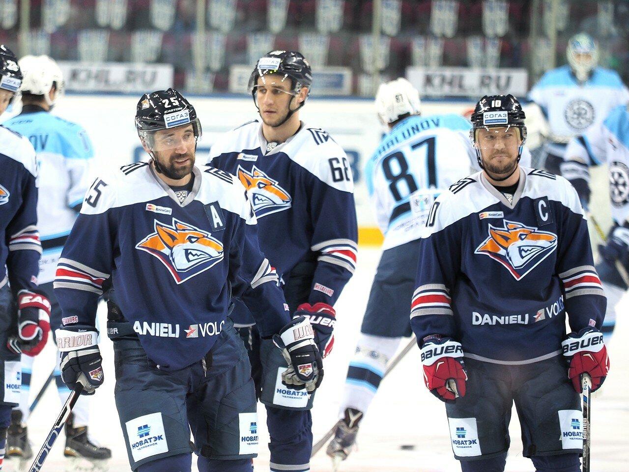 35Восток 1/2 плей-офф Металлург - Сибирь 08.03.2016