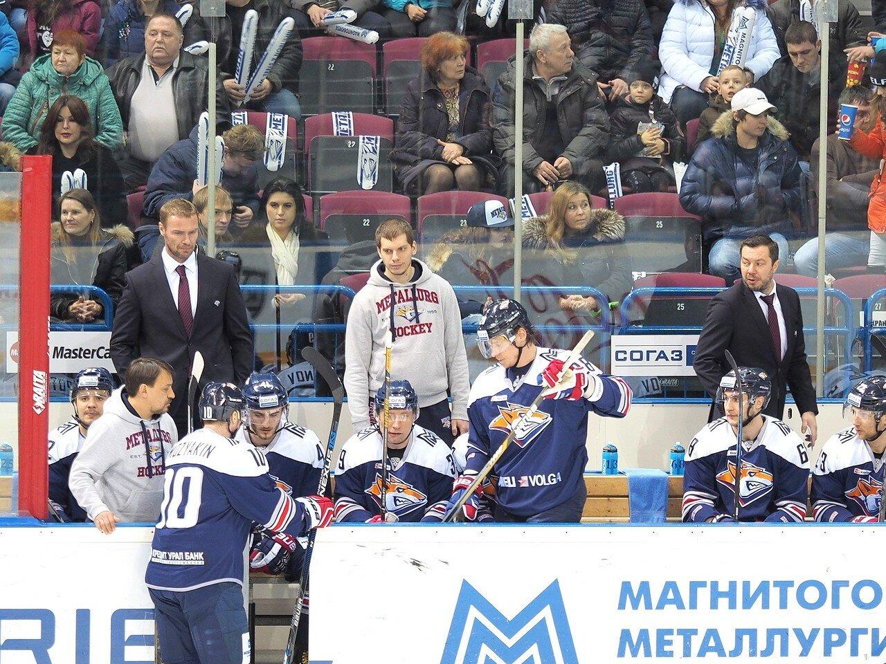 61Восток 1/2 плей-офф Металлург - Сибирь 08.03.2016