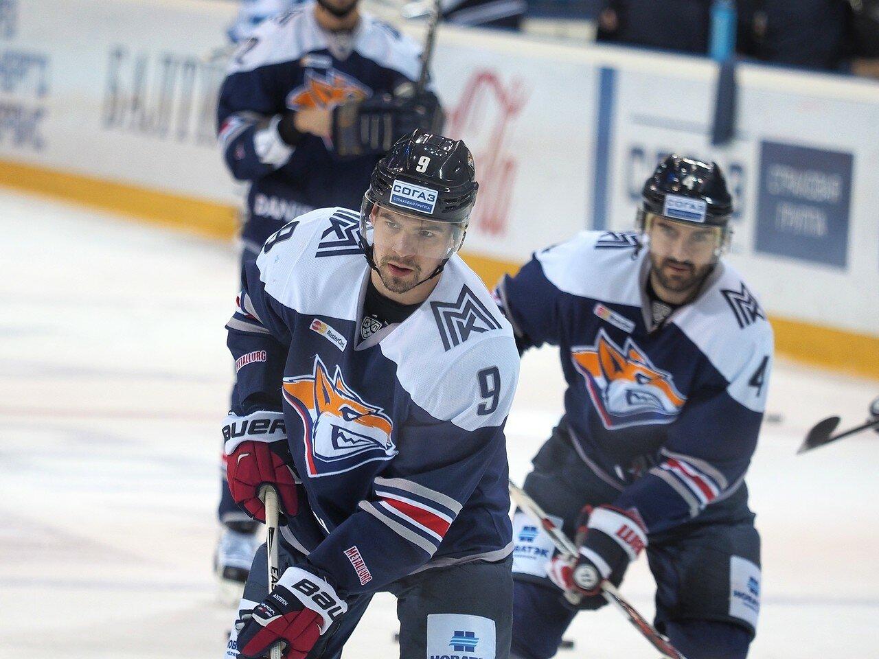 40Плей-офф 2016 Восток 1/2 Металлург - Сибирь 10.03.2016